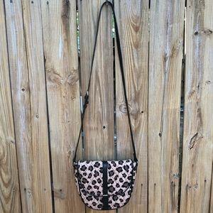 Vera Bradley Leopard Print Crossbody Bag